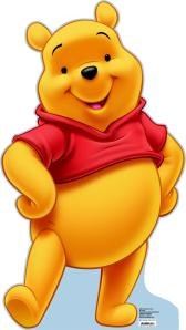 Winnie the Pooh…he's nothing but a fat, naked bastard.