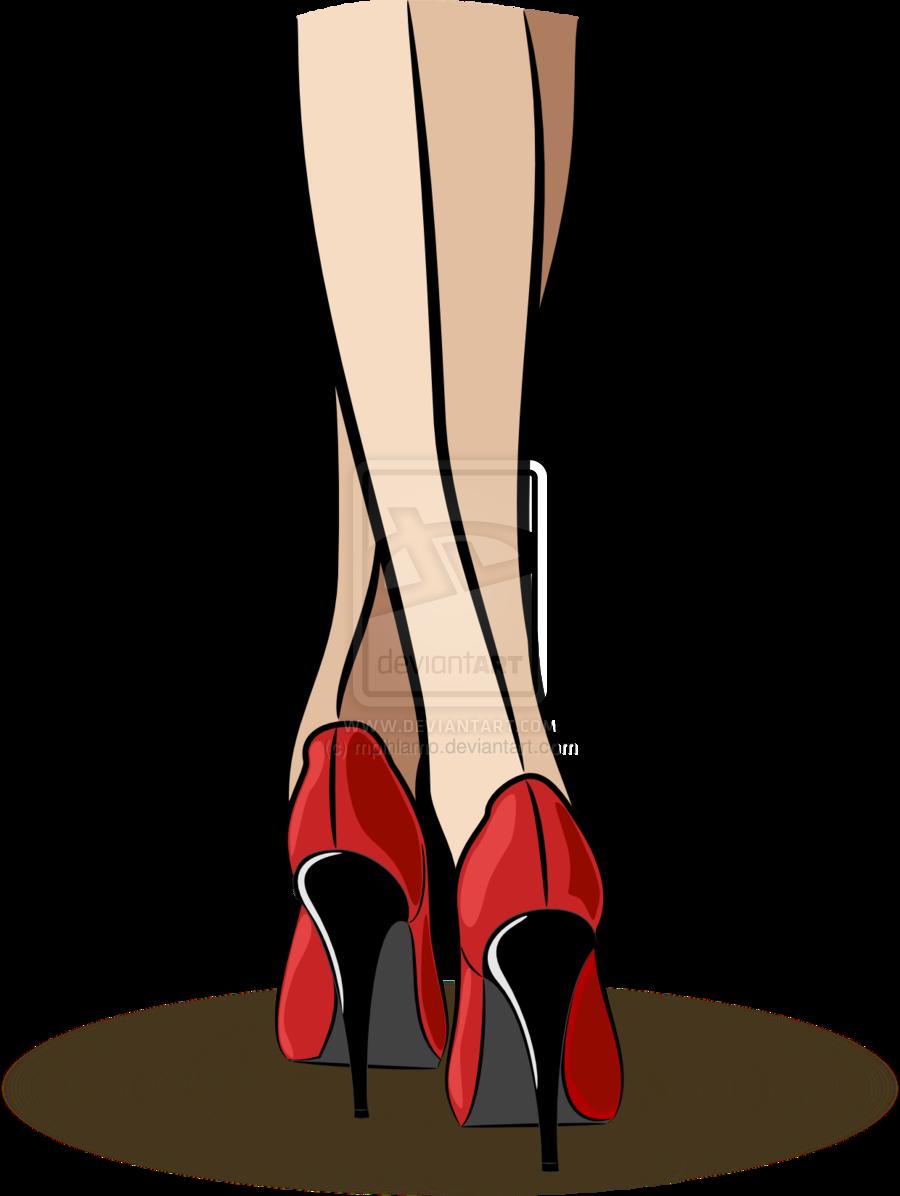 Lady In The Shoe Cartoon